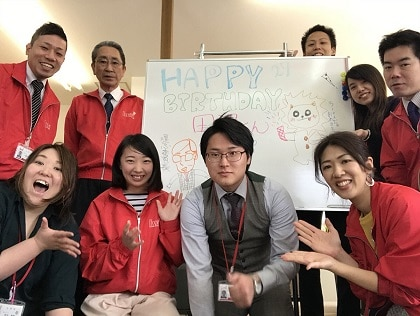 田沼さんhappy birthday