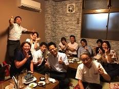 2018.8.1 湯浅さん歓迎会★