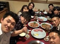 2018年2月達成食事会!