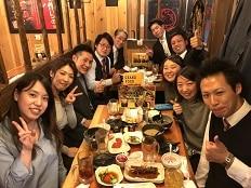 歓迎会 in  新橋&銀座