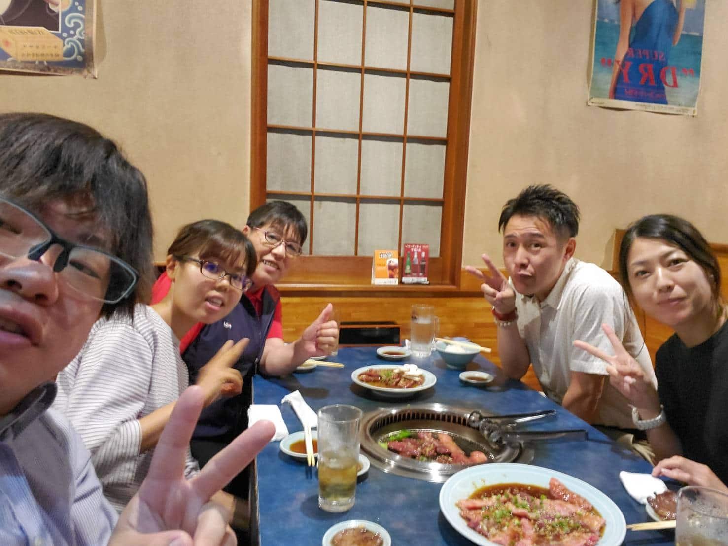 久々の達成食事会!!
