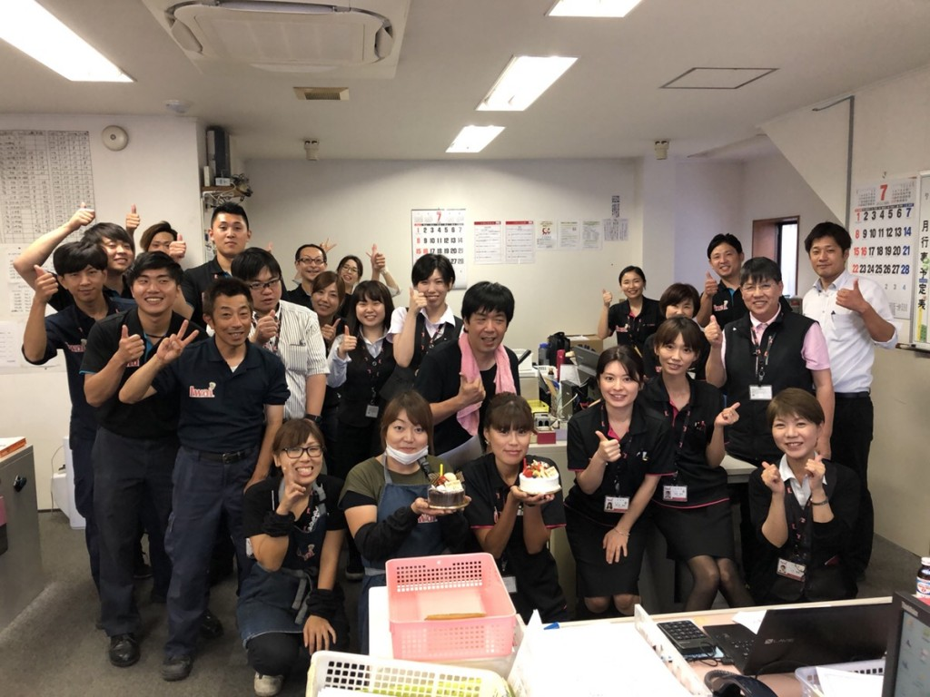 高梨さん、島田さん誕生日